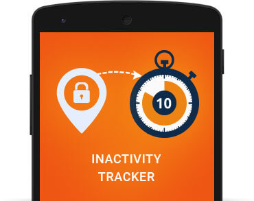 Child GPS Tracker Includes Inactivity tracking feature