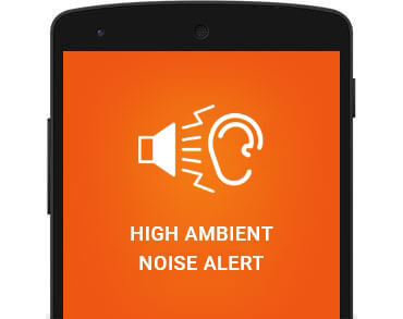 Child GPS Tracker includes a high ambient noise alert feature.